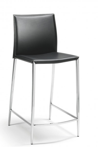 Mayer Sitzmöbel Tresenhocker Sitz und Rücken Leder