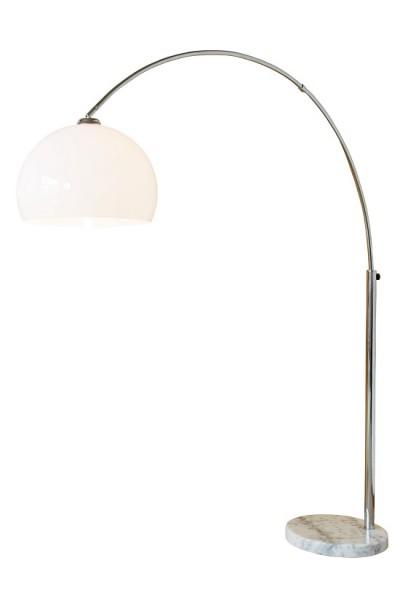 SalesFever Bogenlampe weiß