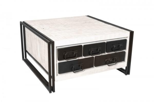 Sit Möbel Couchtischtruhe White Panama 07394-10