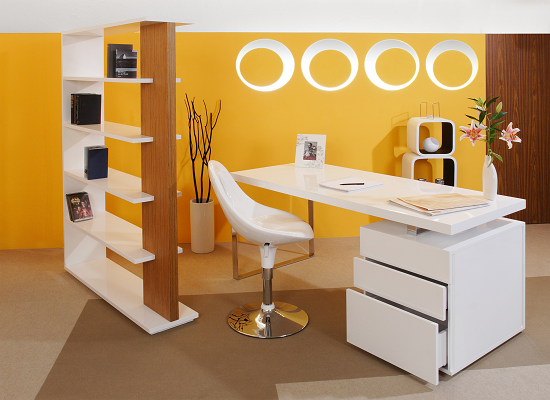 SalesFever Schreibtisch 140 x 70 cm