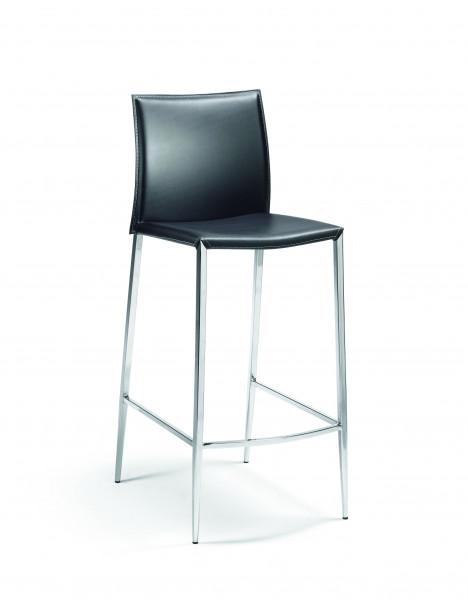 Mayer Sitzmöbel Barhocker Sitz und Rücken Leder
