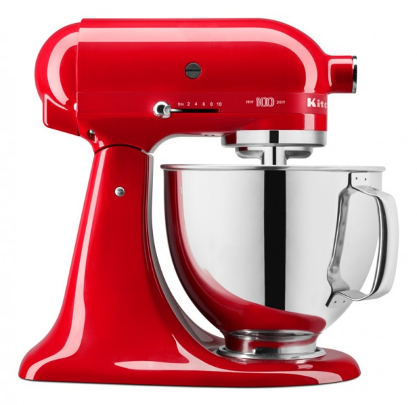 """KitchenAid Artisan 5KSM180HESD Passion Red Limited Edition """"Queen of Hearts"""""""