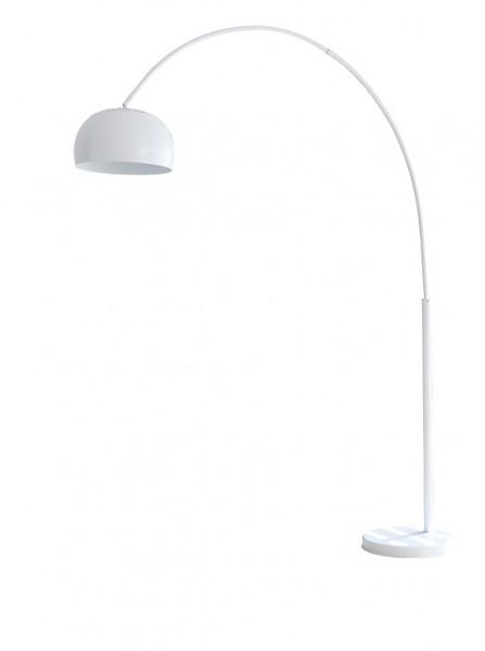 SalesFever Bogenlampe weiß lackiert