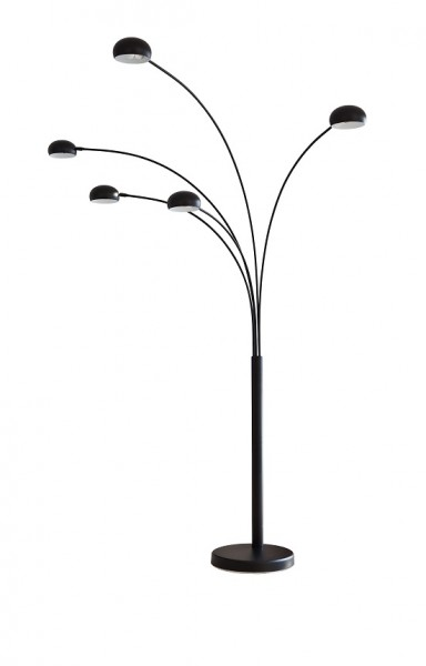 SalesFever Stehlampe Five Fingers 220 cm schwarz